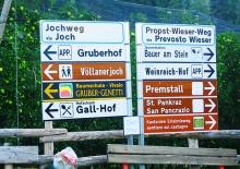 Gruberhof Kennzeichnung in Völlan