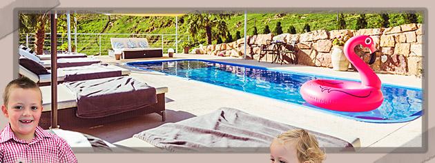Ferienwohnungen mit Schwimmbad